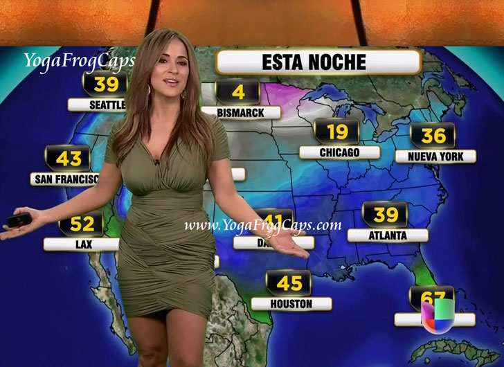 Hottest TV Weather Girls From Around The World - Page 17