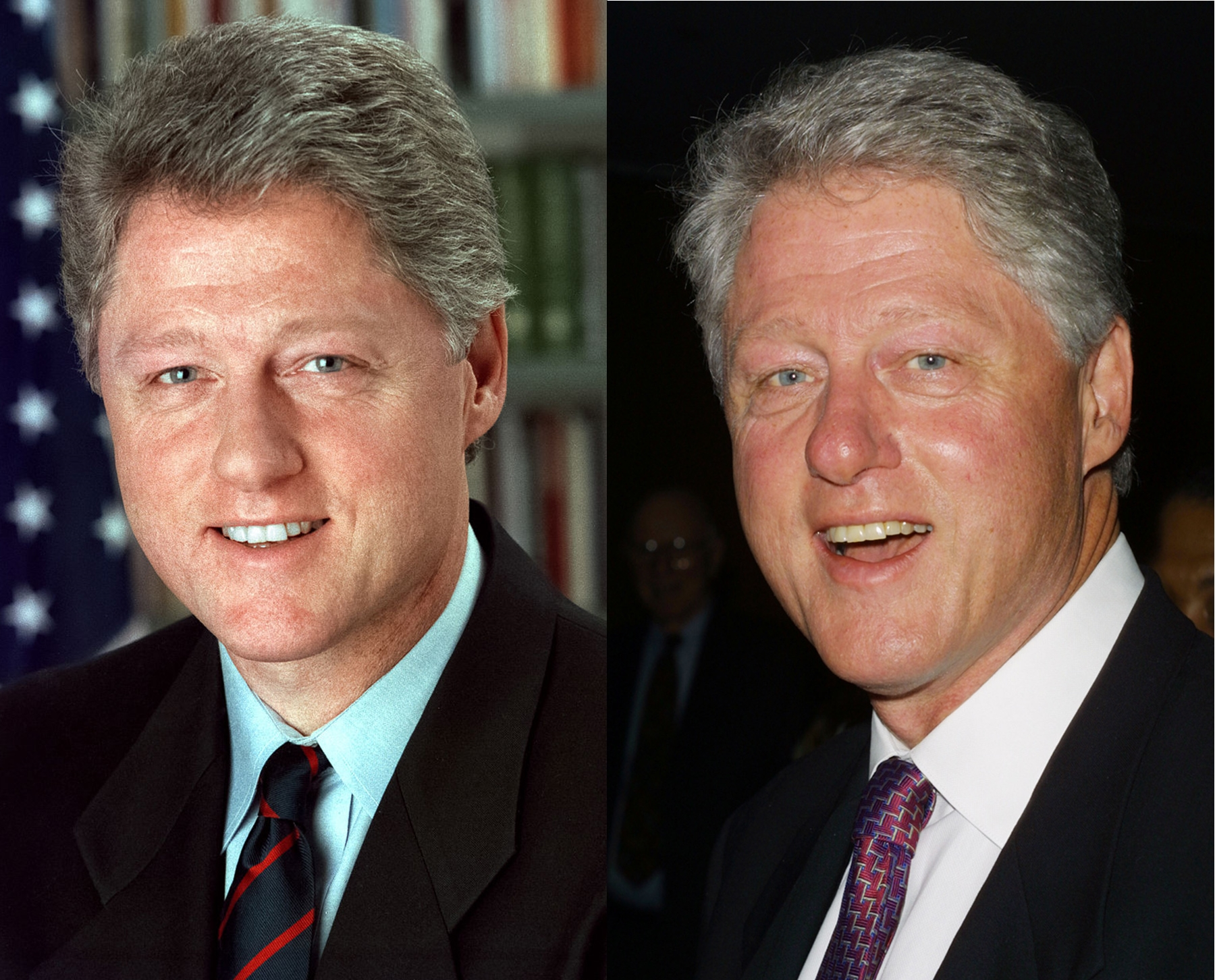 Past presidents before and after their term in office page 13 of 15 poplyft - Bill clinton years in office ...